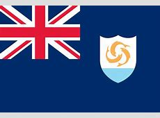 The Flag Of Anguilla Flapping With Glory And Pride