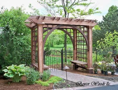 rustic patio designs garden arbors and trellises plans
