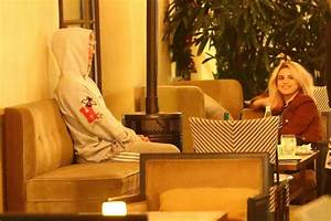SELENA GOMEZ and Justin Bieber at Montage Hotel in Beverly ...