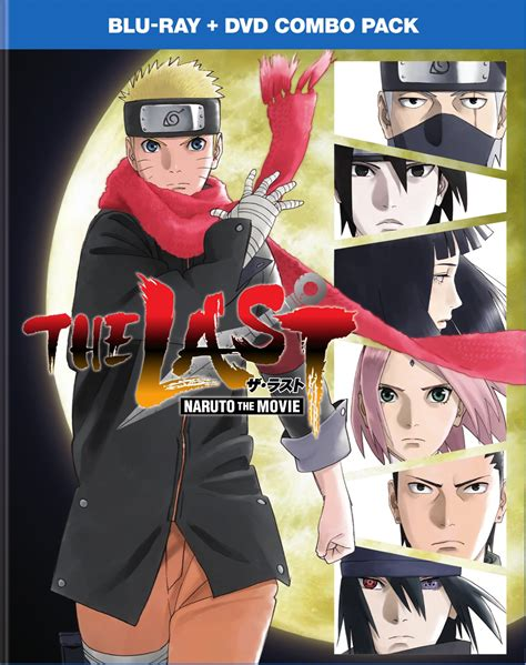 The Last Naruto The Movie Blu Raydvd