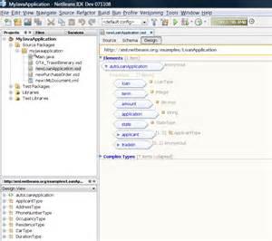 xml designer netbeans xml support in netbeans ide