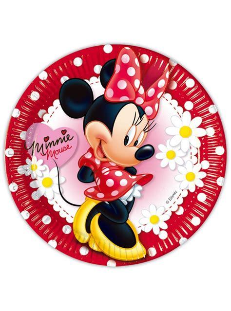 la cuisine de minnie set de platos grandes minnie mouse para fiestas funidelia