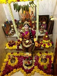 Varalakshmi-Pooja-Decoration-Ideas-20 Lovely Telugu