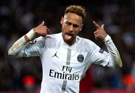 champions league neymar breaks record  psg defeat