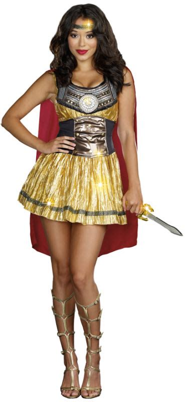 womens sexy gladiator costume adult costumes