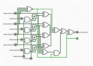 User Friendly 4 Bit Programmable Combination Lock