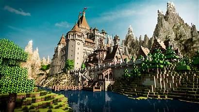 Minecraft Ever Render Castle Epic Medieval Buildings