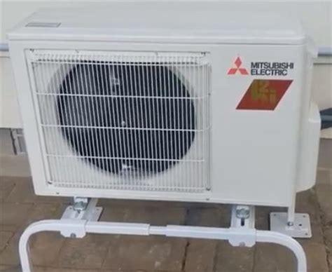 Mitsubishi Mini Split Heat by Mitsubishi Hyper Heat Mini Split Install And Review Hvac