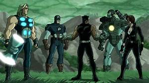 Black Panther (Ultimate Avengers) Images - Marvel Animated ...