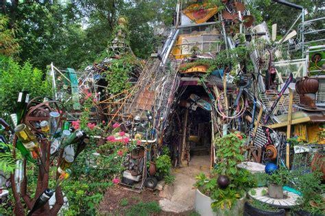 A Flea Market Garden Art Or Junk?  Flea Market Gardening
