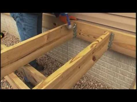 12x12 floating deck plans how to build a deck part 4 of 6 framing and decking