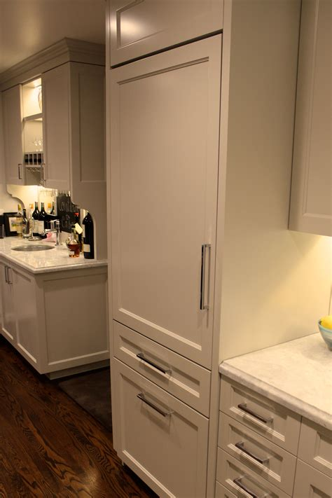 panel ready ge monogram  refrigerator   kitchen  pinterest refrigerator