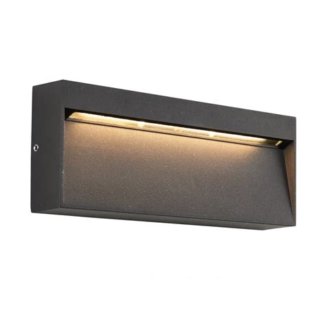 69937 tuscana outdoor led wall light guide