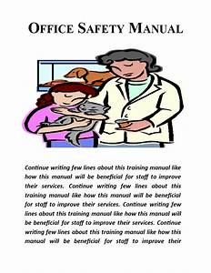 Safety Training Manual Template