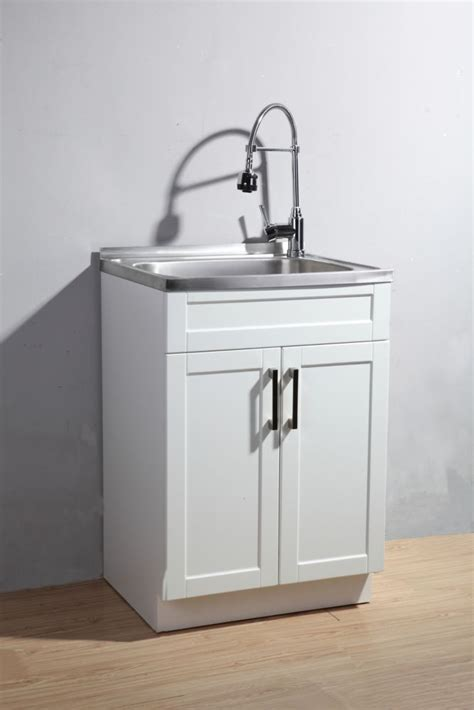 glacier bay utility sink glacier bay utility laundry sink with cabinet the home