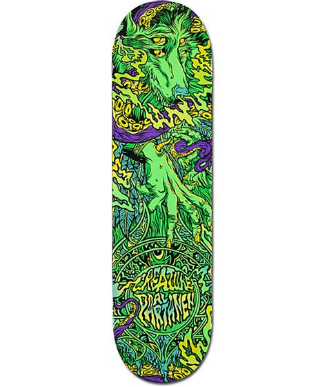Creature P2 Skateboard Decks by Creature Spirit Animal Al Partanen P2 8 1 Quot Skateboard Deck