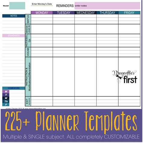 Emergent Curriculum Planning Template Awesome Printable Editable Weekly Lesson Plan Template Inspirational 34 Best