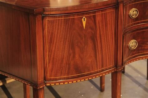Style Sideboard formal hepplewhite style mahogany sideboard for the dining