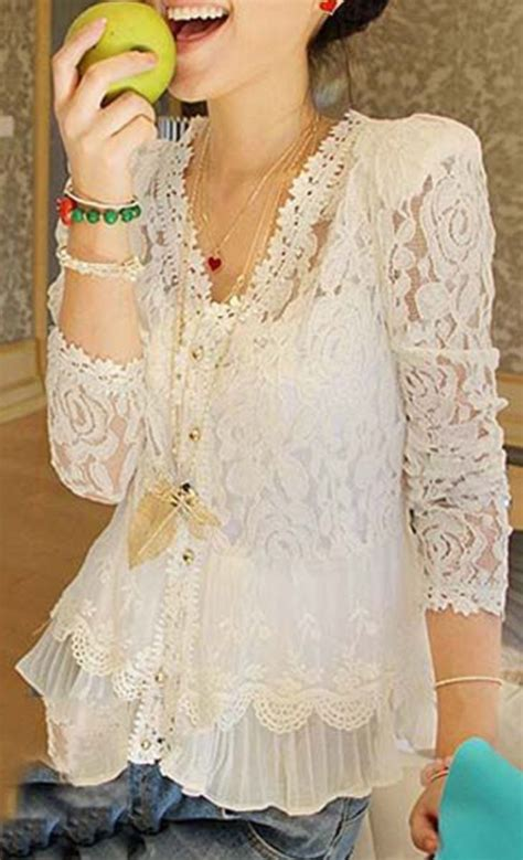 blouses and dresses lace blouse style clothes clothing and