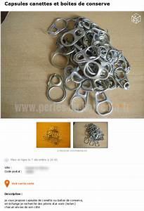 Perle Du Bon Coin : une dr le de collection de capsules de canettes en vente sur le bon coin perles du bon coin ~ Gottalentnigeria.com Avis de Voitures