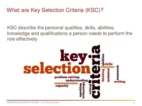 Cover Letter Essential Criteria by Addressing Key Selection Criteria