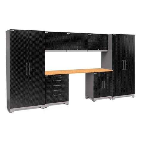 garage cabinet set newage products performance plus plate 2 0 80 in