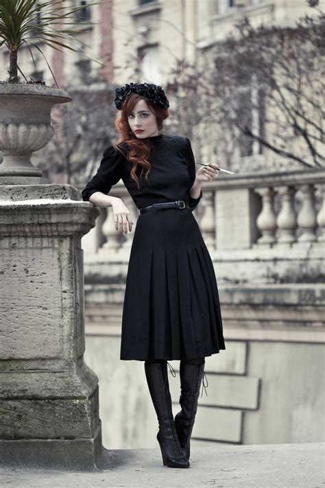 How to dress goth without looking costume-y?  femalefashionadvice
