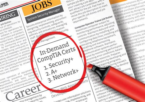 network certification comptia it certifications