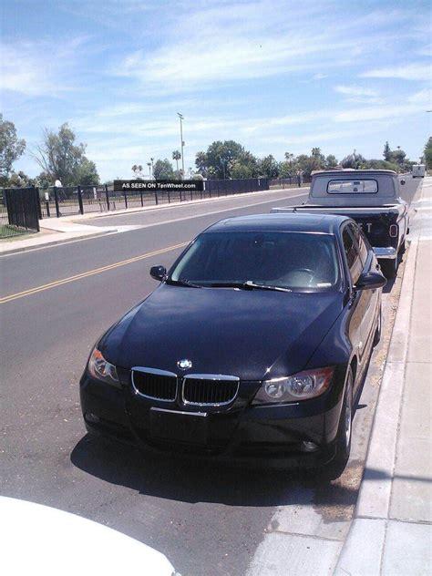 bmw  door sedan black
