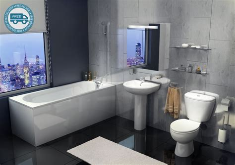 Studio Full Designer Modern Bathroom Suite Bathshop321