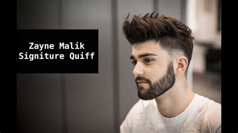 zayn malik signature hair tutorial mens summer hairstyle