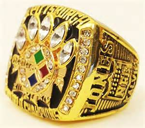 Pittsburgh Steelers Super Bowl Rings