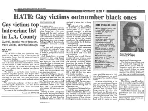Gay Rights Articles - Jack Castiglione
