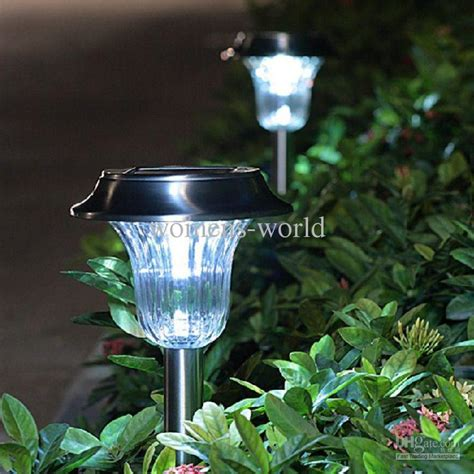 led outdoor lights solar led insert lights landscape