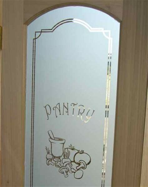 frosted glass pantry door pantry door glass etched carved by sans soucie sans