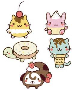 Cute Kawaii Animal Drawings