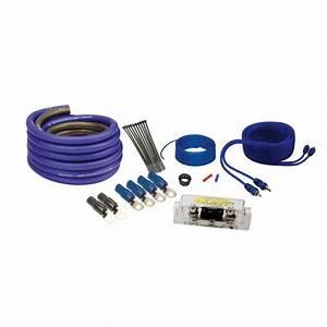 Soundquest Sq600h 8 Gauge Square Hybrid Wiring Kit Matte