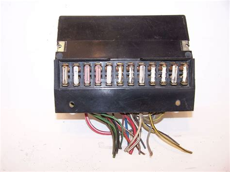 1973 Fuse Box by Fuse Box Vw Beetle 1303 Type 2 1974 1979