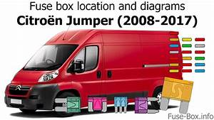 Fuse Box Location And Diagrams  Citroen Jumper  2008