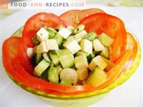 Svaigi dārzeņu salāti ar sieru