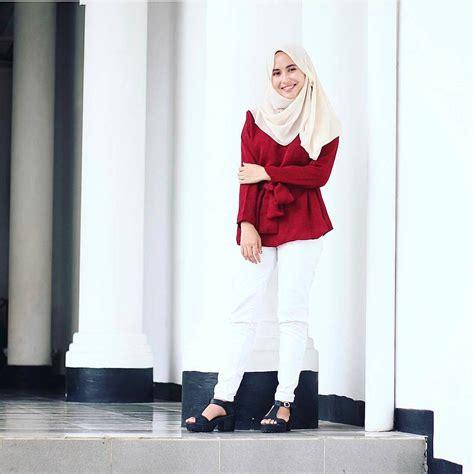 blus muslim terbaru 18 model baju muslim terbaru 2018 desain simple casual