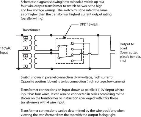 Low Voltage Transformer Wiring Diagram by Nichrome Wire Power Supply Design
