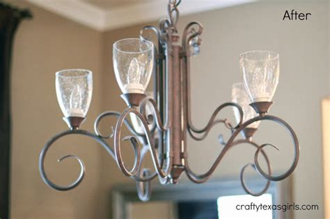 replacement chandelier glass l shades crafty chandelier makeover for 35 no