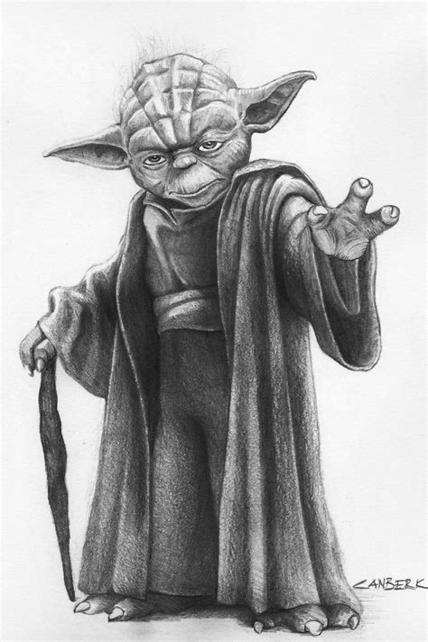 Master Yoda by leatris on deviantART | Star wars drawings ...