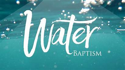 Baptism Water Church International Faith