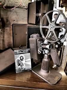 The Old days...Vintage film projector.   Filmmaking stuff ...