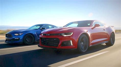 Gt500 Vs Gt350 by 2017 Ford Mustang Shelby Gt350r Vs 2017 Chevy Camaro Zl1