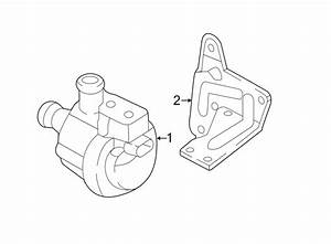 2015 Volkswagen Beetle Convertible Engine Water Pump