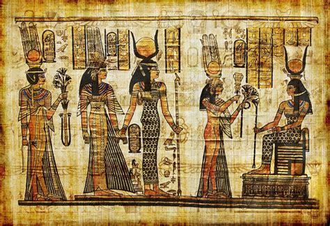 ancient egyptian parchment wall mural pixers