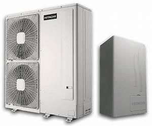 Pompe A Chaleur Reversible Air Air : pompe a chaleur air eau hitachi bi bloc monophase yutaki s xrwm 5fsn3afv chauffage reversible ~ Farleysfitness.com Idées de Décoration
